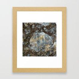 Old stone wall Framed Art Print