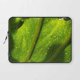 Spotted Leaf Laptop Sleeve
