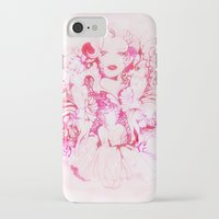 marylin monroe iPhone & iPod Cases featuring Marylin Monroe by FlowerMoon Studio