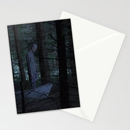Go to the woods. Stationery Cards