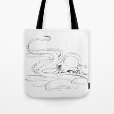 Jellyfish-man Tote Bag