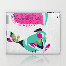 he loves me / he loves me not? Laptop & iPad Skin