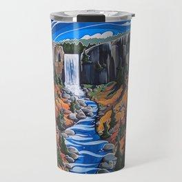 Tumalo Falls Travel Mug