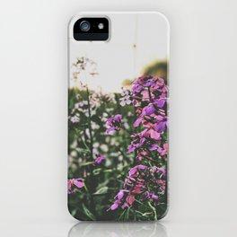 Purple Flowers • Appalachian Trail iPhone Case