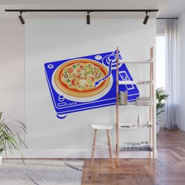 Pizza Scratch Wall Mural