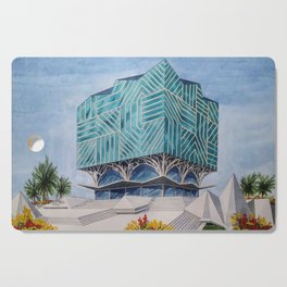 The Grand African Library Cutting Board