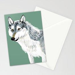 Totem Alberta Wolf Stationery Cards