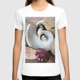 Seashell Still Life T-shirt