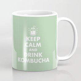 Keep Calm and Drink Kombucha Coffee Mug