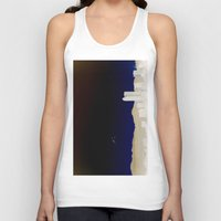 denver Tank Tops featuring Denver Flyby by Augustina Trejo