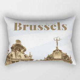 Brussels Grand Place Belgium Rectangular Pillow