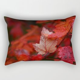 September Rain Rectangular Pillow