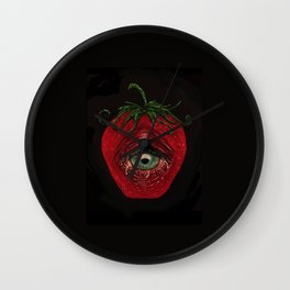 Eye Berry Wall Clock