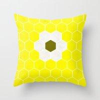 minion Throw Pillows featuring Minion by Alexandre Reis
