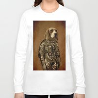 beagle Long Sleeve T-shirts featuring Beagle by Durro