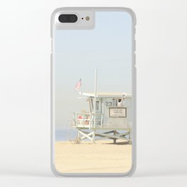 ALPACA -  VENICE BEACH No. 23 Clear iPhone Case
