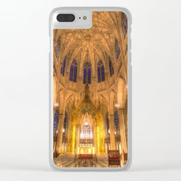 St Patrick's Cathedral New York Clear iPhone Case
