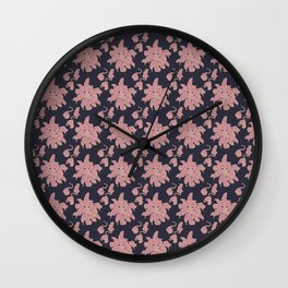 Ratking Flowers [Violet] Wall Clock