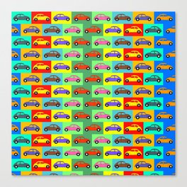 BT21 cars Canvas Print