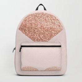 ROSEGOLD HEART BLUSH Backpack