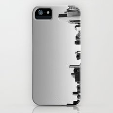 chicago skyline b+w iPhone (5, 5s) Slim Case