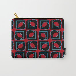 Tubes in Cubes on Red Carry-All Pouch
