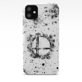 Super Smash Bros Ink Splatter iPhone Case