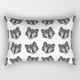 Howl You Doin'? - Cute Wolf - Puppy - 57 Montgomery Ave Rectangular Pillow