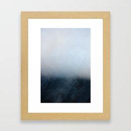 Foggy Horizon Framed Art Print
