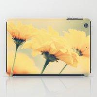 leah flores iPad Cases featuring Flores by Irène Sneddon