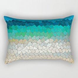SEA MOSAIC Rectangular Pillow