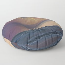 The Colorful Sea Floor Pillow