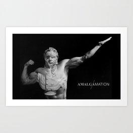 Amalgamation #2 Art Print