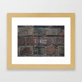 1362 Framed Art Print