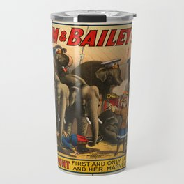 Barnum and Bailey circus the Greatest Show on Earth Travel Mug