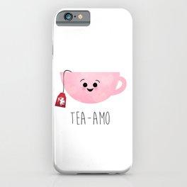 Tea-amo iPhone Case