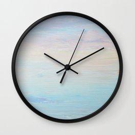Subtle Sunrise Wall Clock