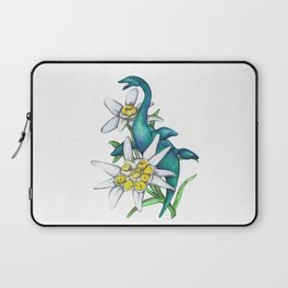 E is for Elasmosaur and Edelweiss Laptop Sleeve