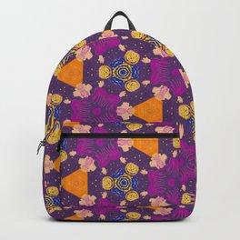 Color geometry violet  Backpack