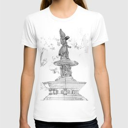 Belvedere Fountain, Central Park, NY T-shirt