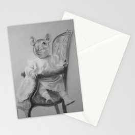 Seen and not heard Stationery Cards