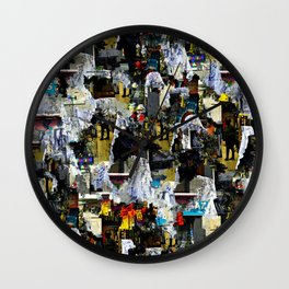 Lean against time inkling politely so others hear. Wall Clock