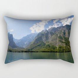 Bavaria - Alpes- Mountains Koenigssee Lake Rectangular Pillow