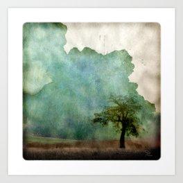 A Tree Apart Art Print