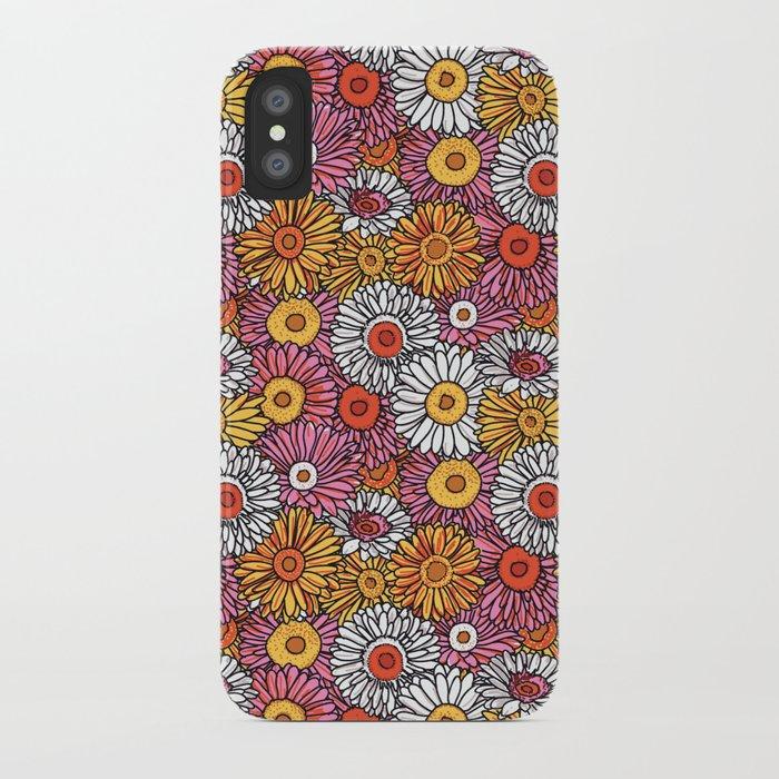 Daisy Pattern iPhone Case