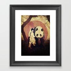 The Geisha Framed Art Print