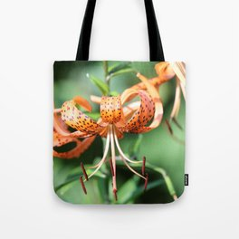 Spotted Summer Lilies Tote Bag