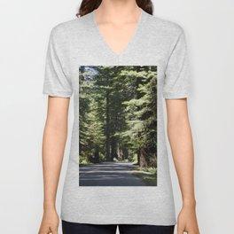 Humboldt State Park Road Unisex V-Neck
