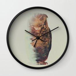 Norwegian Woods: The Owl Wall Clock