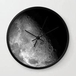 Half Moon Luna Wall Clock